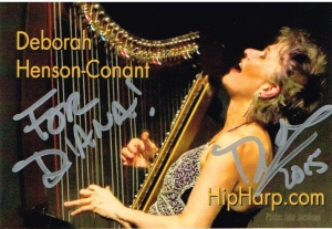 Deborah Henson-Conant Business Card |Audacity Lessons| dianaklein.com