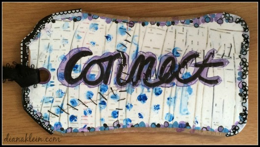 Reconnect Little Art Card | dianaklein.com
