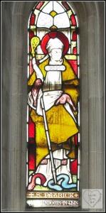 2017-03-17 Christ Church Cathedral St. Patrick's Window (Dublin) | A St. Patrick's Day Feast of Tasty Irish Writing | dianaklein.com